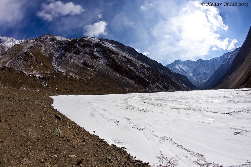 Frozen Indus for Sanjoy's book