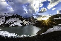 Suraj Tal lake in Ladakh