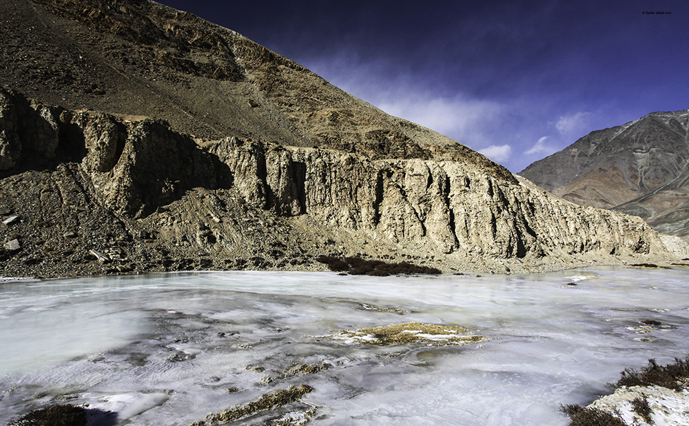 Frozen Indus River
