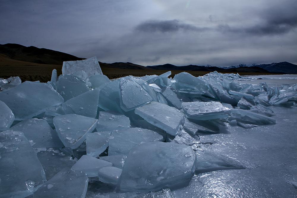 Frozen Tso Moriri