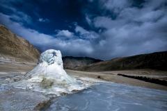 Geyser at Puga Valley, Ladakh